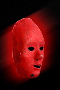 Derrière le masque se cache la passion...