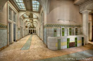 Les Grands Thermes de Châtel-Guyon en 2011 : Rez-de-chaussée -6C-
