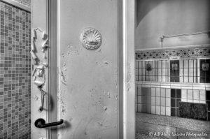 Les Grands Thermes de Châtel-Guyon en 2011 : Rez-de-chaussée -8N&B-