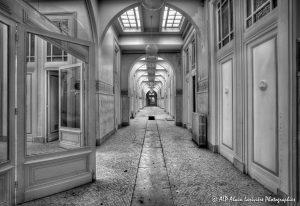 Les Grands Thermes de Châtel-Guyon en 2011 : Rez-de-chaussée -11N&B-