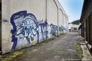 Tags à Châtel-Guyon : L'allée des tags -2-