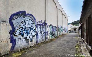 Tags à Châtel-Guyon : L'allée des tags -2R-
