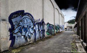 Tags à Châtel-Guyon : L'allée des tags -2RTM-
