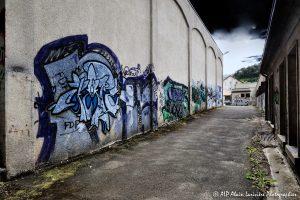 Tags à Châtel-Guyon : L'allée des tags -2TM-
