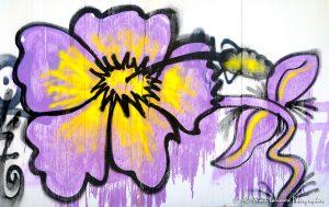 Tags à Châtel-Guyon : Tag fleur -4-