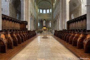 Choeur, transept et nef de la basilique de St-Benoît-sur-Loire -2