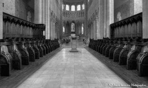Choeur, transept et nef de la basilique de St-Benoît-sur-Loire -2RN&B-