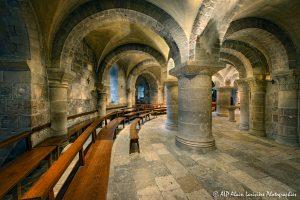 Crypte de la basilique de Saint-Benoît-sur-Loire -0M-