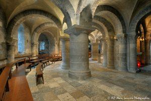 Crypte de la basilique de Saint-Benoît-sur-Loire -1-