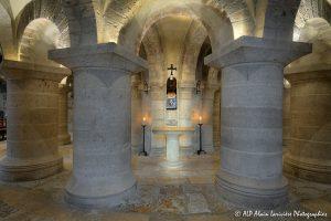 Crypte de la basilique de Saint-Benoît-sur-Loire -3-