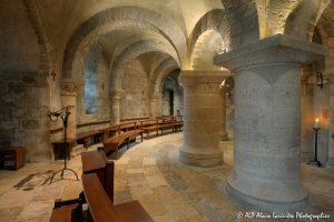 Crypte de la basilique de Saint-Benoît-sur-Loire -4-