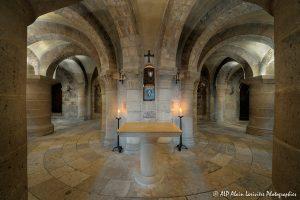 Crypte de la basilique de Saint-Benoît-sur-Loire -6-