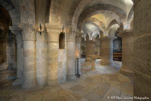 Crypte de la basilique de Saint-Benoît-sur-Loire -7-