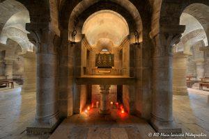 Crypte de la basilique de Saint-Benoît-sur-Loire -8-