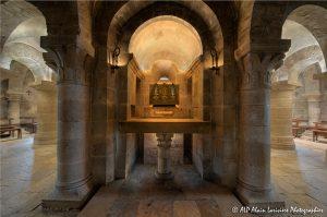 Crypte de la basilique de Saint-Benoît-sur-Loire -8M-