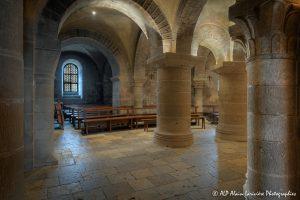Crypte de la basilique de Saint-Benoît-sur-Loire -9a-
