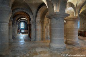 Crypte de la basilique de Saint-Benoît-sur-Loire -10-