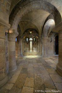 Crypte de la basilique de Saint-Benoît-sur-Loire -14b-