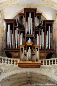 L'orgue de la basilique de Saint-Benoit-sur-Loire -1R-