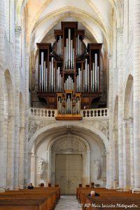 L'orgue de la basilique de Saint-Benoit-sur-Loire -4-