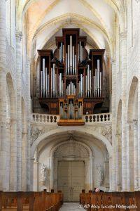 L'orgue de la basilique de Saint-Benoit-sur-Loire -5-