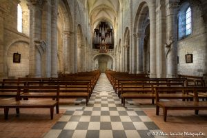 Nef de la basilique de Saint-Benoît-sur-Loire -1-