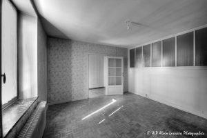 La vieille maison abandonnée, la chambre 1 -2N&B-