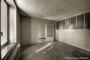 La vieille maison abandonnée, la chambre 1 -2sépia-