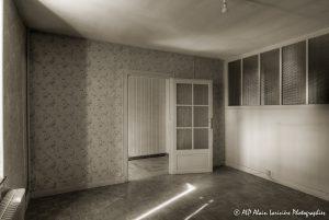 La vieille maison abandonnée, la chambre 1 -3Bsépia-