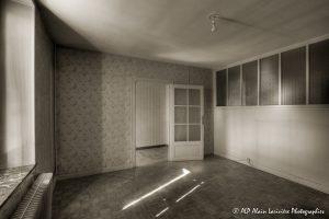 La vieille maison abandonnée, la chambre 1 -3sépia-