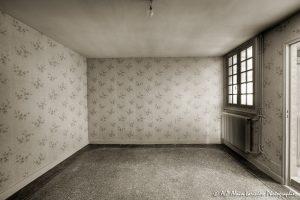 La vieille maison abandonnée, la chambre 2 -3sépia-