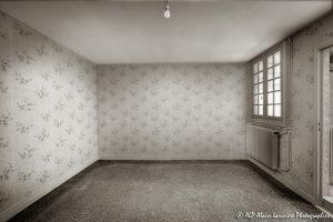 La vieille maison abandonnée, la chambre 2 -4sépia-