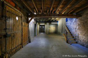 La vieille maison abandonnée, la grange -2-