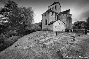 Le cimetière des moines -1M2N&B-