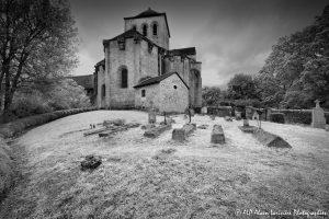 Le cimetière des moines -3M2INFRAROUGEN&B-