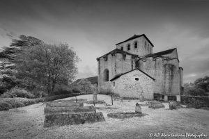 Le cimetière des moines -7INFRAROUGEN&B-