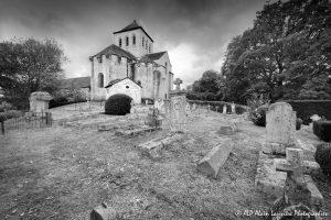 Le cimetière des moines -8M2N&B-