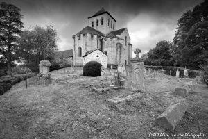 Le cimetière des moines -9M2N&B-