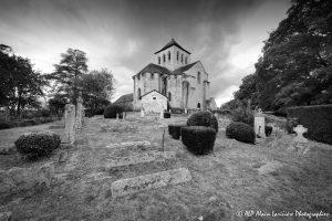Le cimetière des moines -10M2N&B-