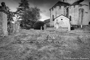 Le cimetière des moines -12M2N&B-