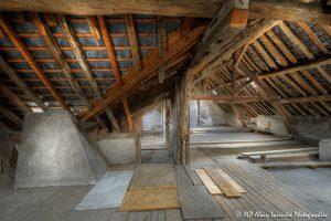 La vieille maison abandonnée, le grenier -3-