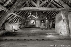 La vieille maison abandonnée, le grenier -10sépia-