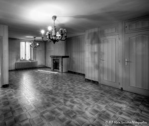 La vieille maison abandonnée, le séjour -1BN&B-