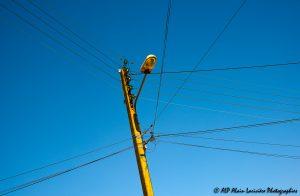 Fils électriques : Bleu électrique -1-