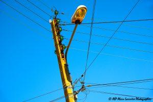 Fils électriques : Bleu électrique -2-